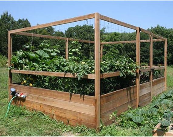 Amazon Com Gardens To Gro 8 X 12 Ft Deer Proof Vegetable Garden