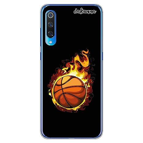 dakanna Funda para Xiaomi Mi 9   Balón de Baloncesto en Llamas ...
