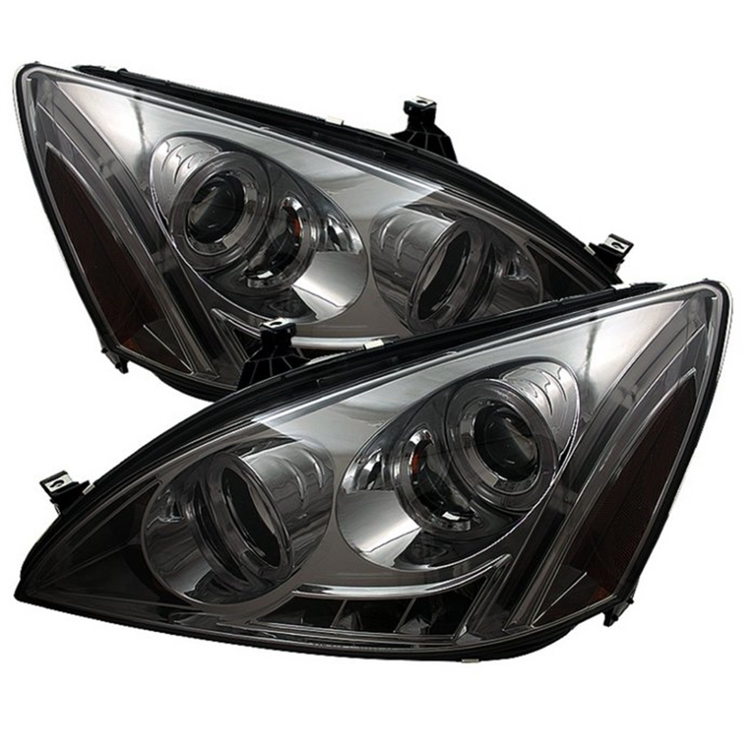 Amazon.com: Spyder Auto Honda Accord Black Halogen LED Projector Headlight:  Automotive