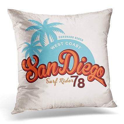 Amazon.com: SPXUBZ Travel San Diego Vintage Graphic Grunge Effects ...