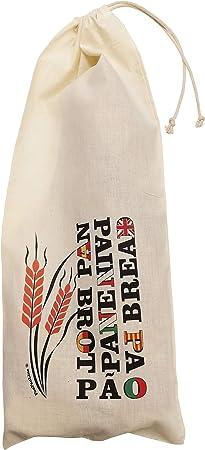 FUN FAN LINE - Set Bolsas de Pan Baguette Reutilizables de algodón ...