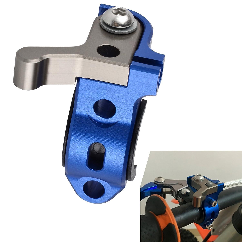 NICECNC Blue Rotating Bar Clamp Hot Start Lever for WR250 2001 WR250F 2001-2013 WR250R 2008-2011 WR250X 2008-2010 WR426F 2001-2002 WR450F 03-09,11-14