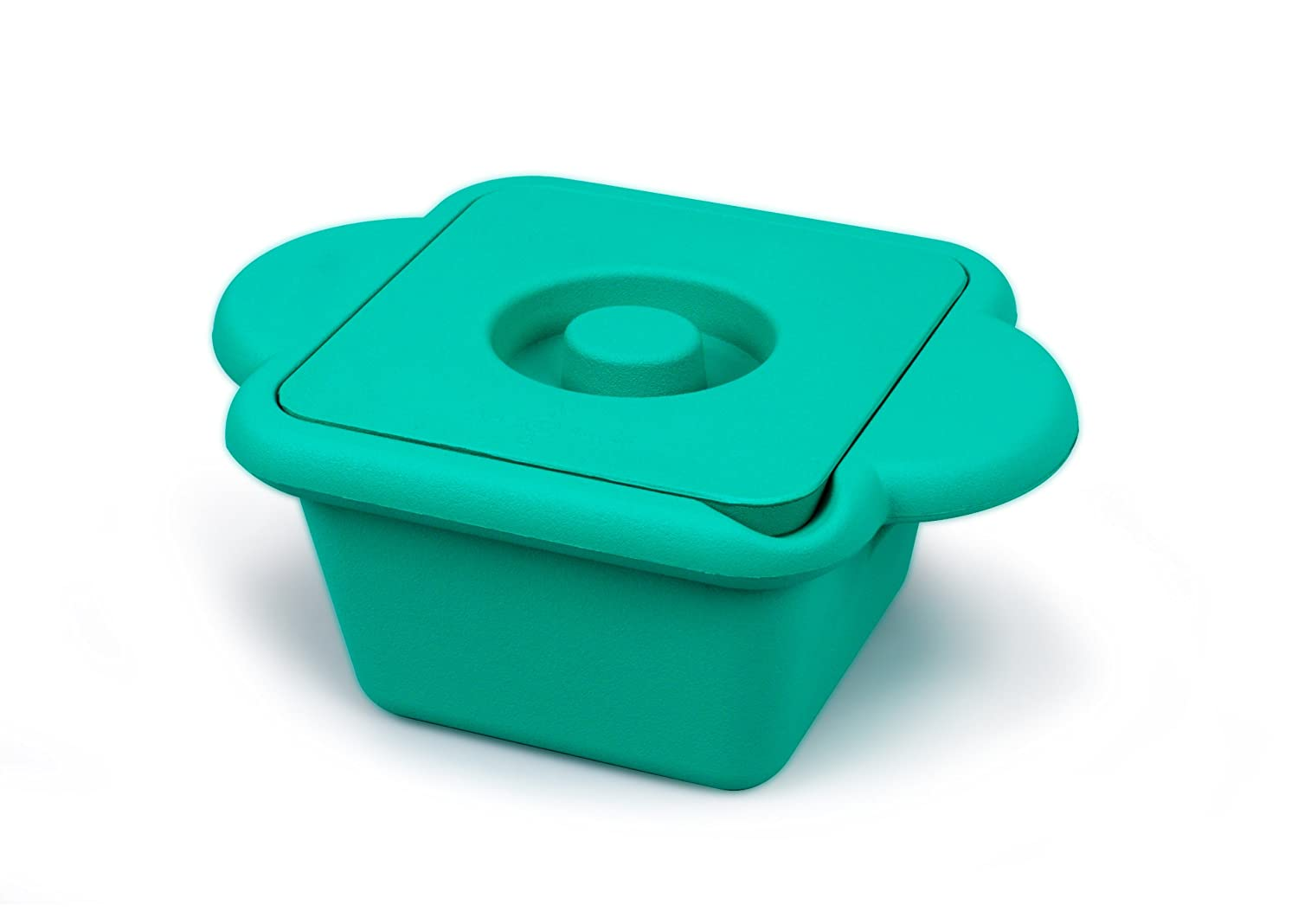 Heathrow Scientific HD28721G True North Cool Container Pan with Ergonomic Handle, Polyurethane, 1L Capacity, Emerald