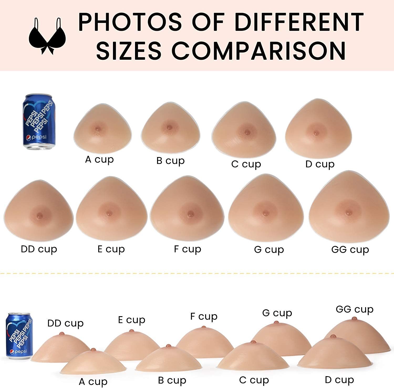 Vollence Silic/ón Triangular Formas de Senos Senos Falsos para pr/ótesis de mastectom/ía transg/éneros travestis transformistas Disfraces para Cosplay