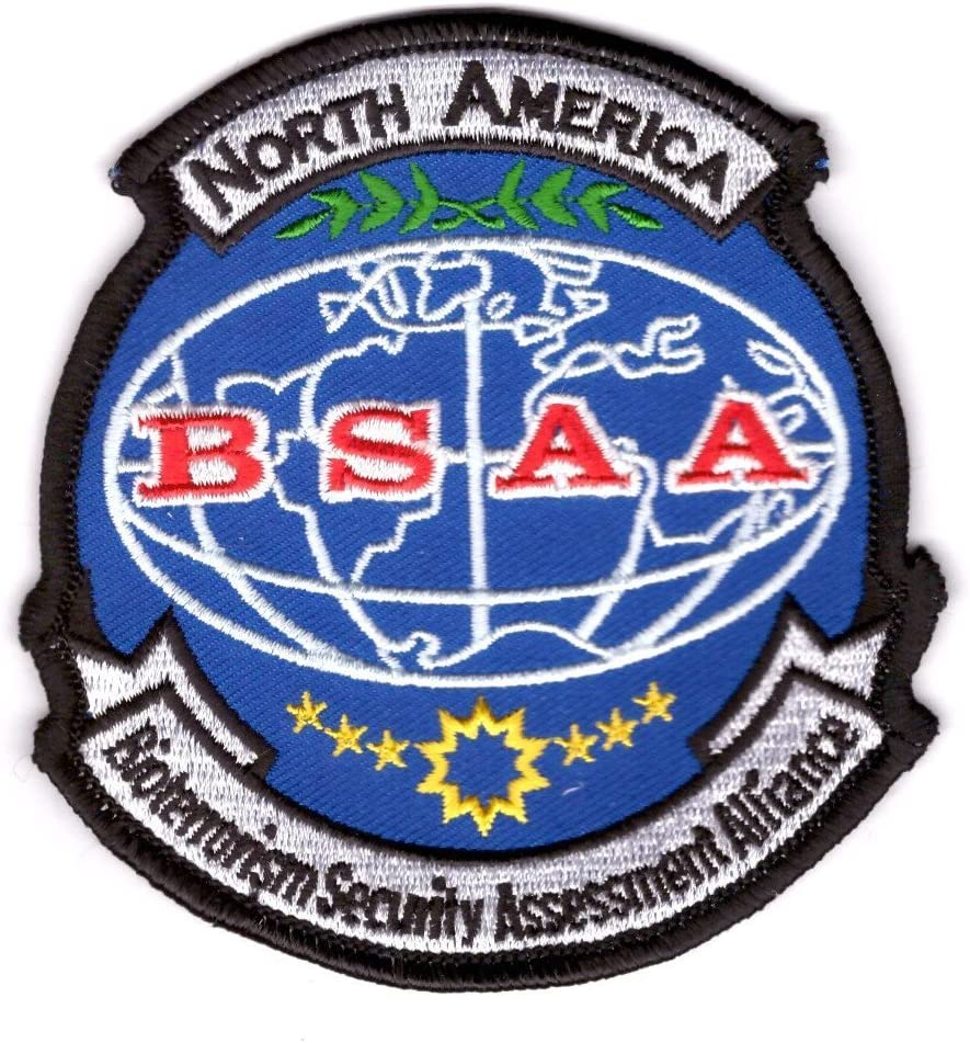 Titan One Europe North America BSAA Resident Evil Shoulder Patch