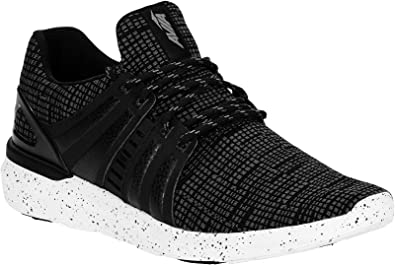 Caged Knit Performance Running Sneaker