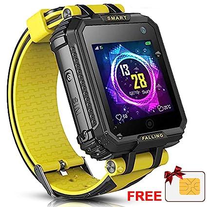 Amazon.com: [SIM Card Included] Kids Smart Watch Phone GPS ...