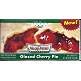 Krispy Kreme Glazed Cherry Pies 6 Individually wrapped Serving Pies