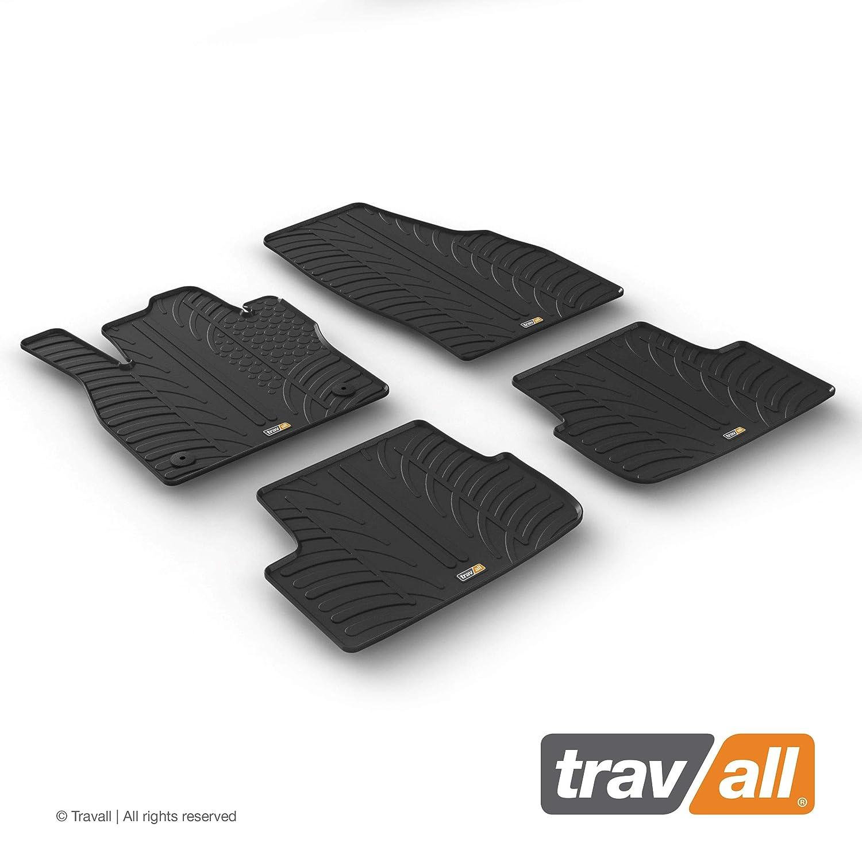 Travall Mats Gummifu/ßmatten TRM1306 Allwettermatten nach Ma/ß Fussmatten Set