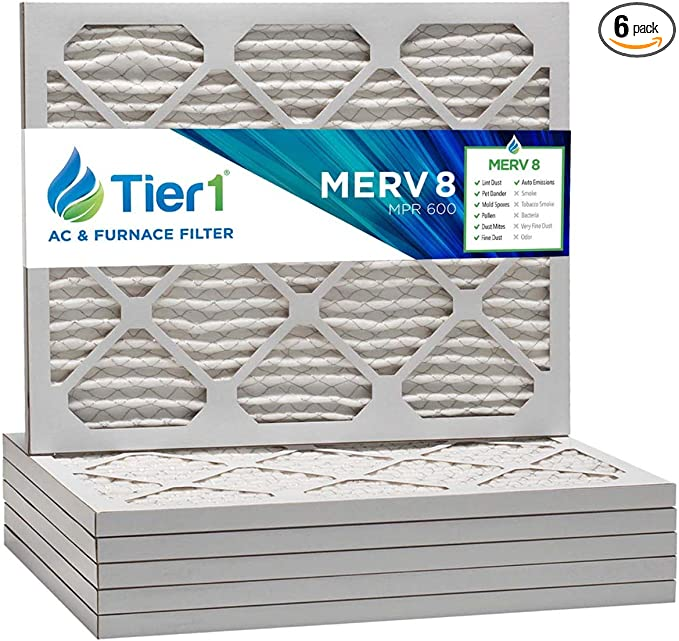 14x16x1 MERV 10 HVAC//Furnace pleated air filter 12