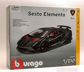 New Burago Bu25122 Lamborghini Sesto Elemento Kit 1 24 Modellino