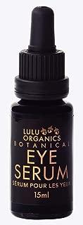 product image for Lulu Organics Botanical Eye Serum For Dark Circles Fine Lines 15ml