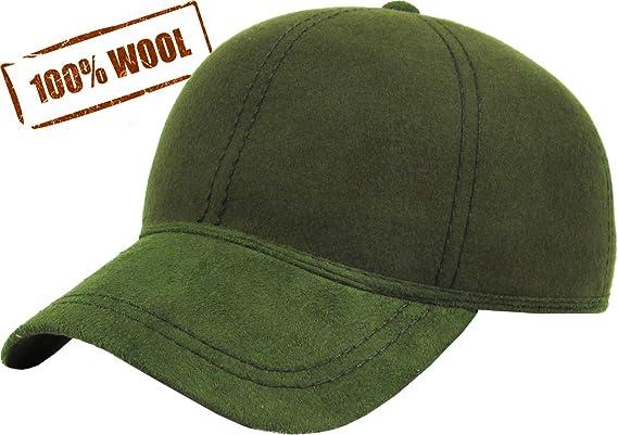 2061ac77d96 KBW-09 Gry Wool Felt Solid Baseball Hat Cap Gray  Amazon.ca  Sports    Outdoors