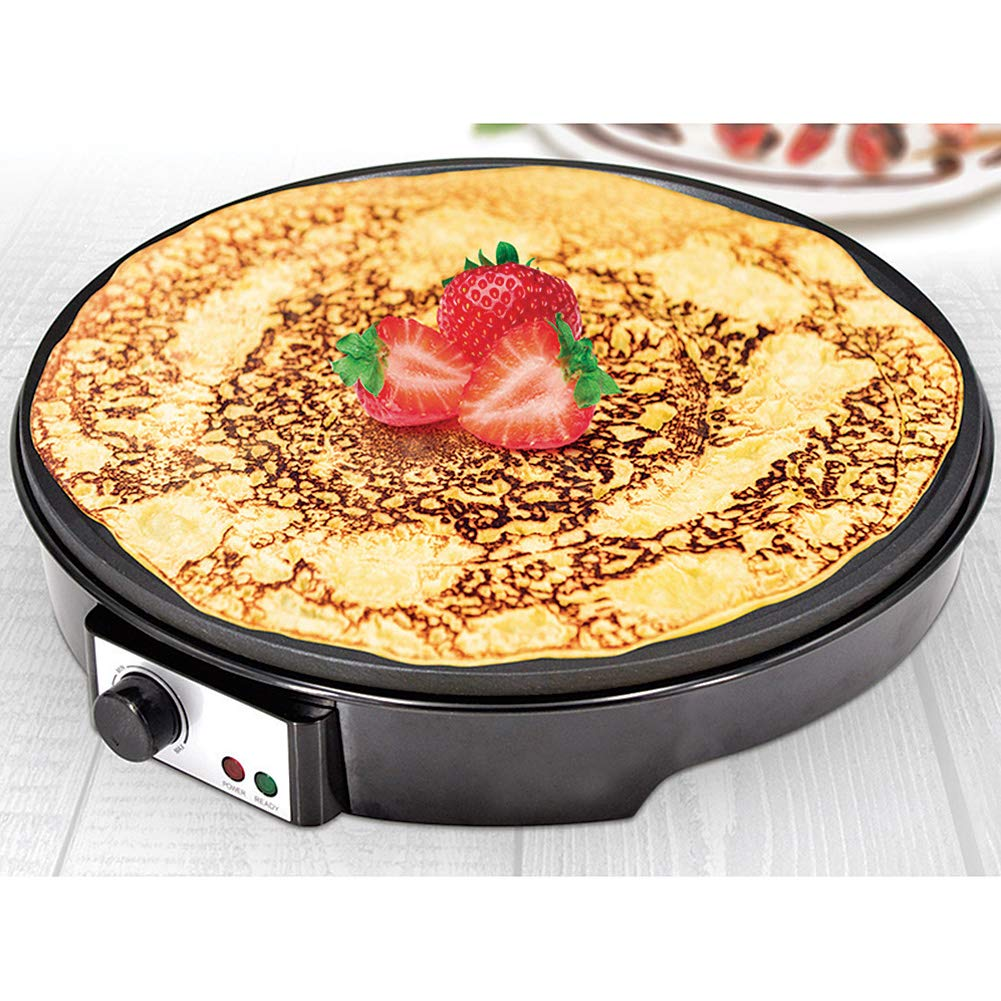Eternal Kitchen Gadget Deluxe 12'' Electric Crepe Maker And Griddle PG93932 by Eternal