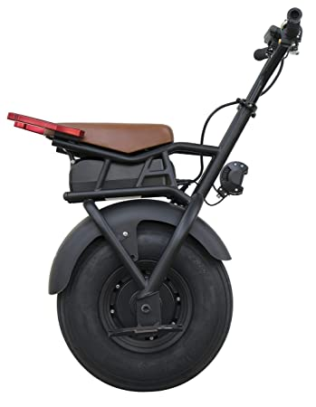 SUPERRIDE Self Balancing Electric Unicycle S1000 – One Wheel Electric Scooter with Single Fat Tire & 1000W Motor