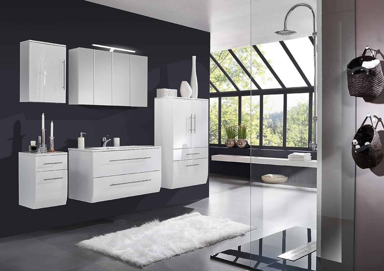 SAM® Badmöbel-Set Niagara 5tlg, 120 cm, hochglanz weiß, mit ...