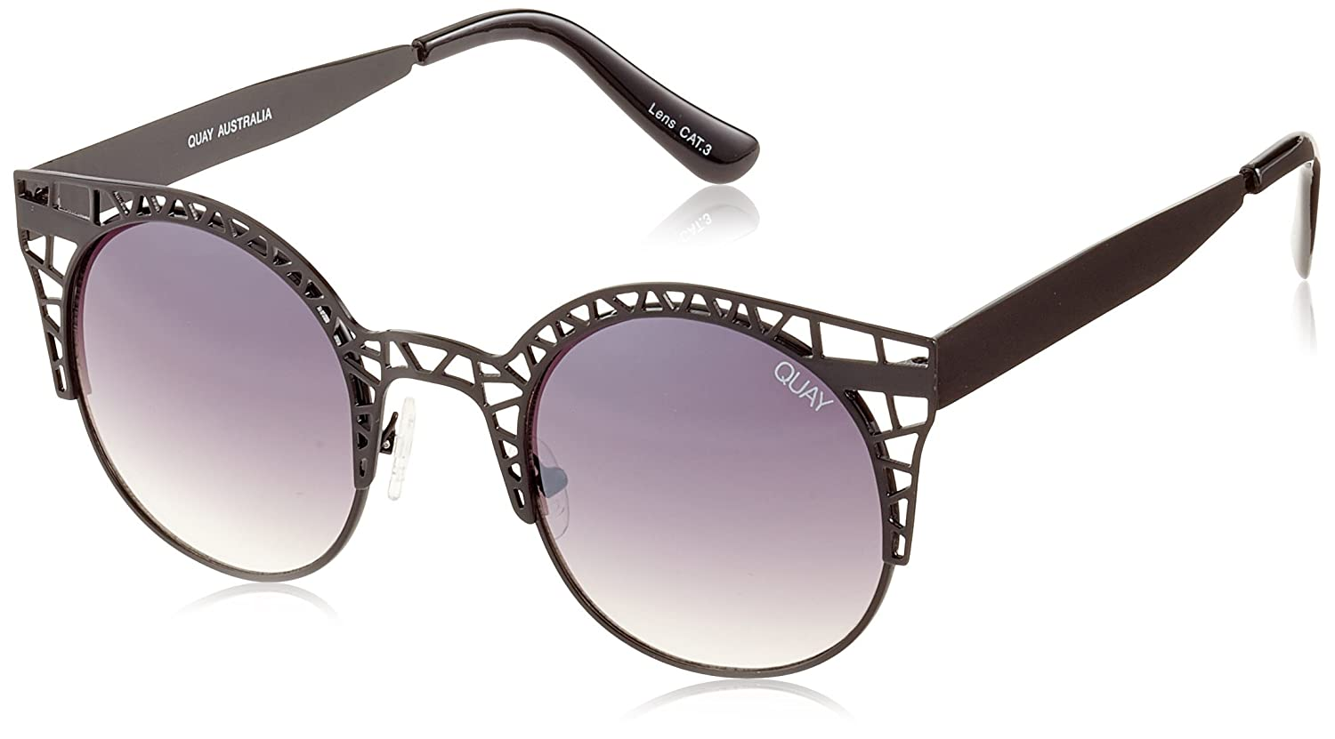41ee48facf75c CLASSIC SWAGGER  Quay s FLINT sunnies got that classic swagger. Featuring  an accented brow-line
