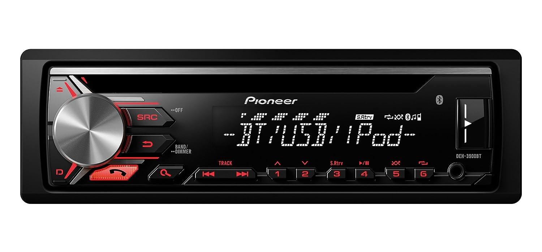 Pioneer DEH-3900BT Radio CD con RDS, Bluetooth, Entrada Auxiliar y USB: Amazon.es: Electrónica