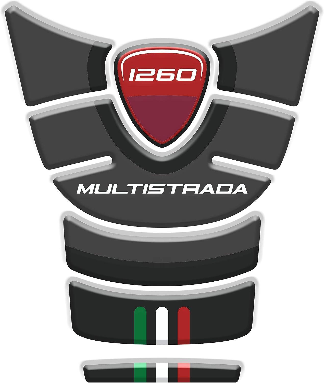 Tankpad Motorad Draht Muster Tankschutz Kompatibel Von D Ucati Multistrada 1260 V1 Auto