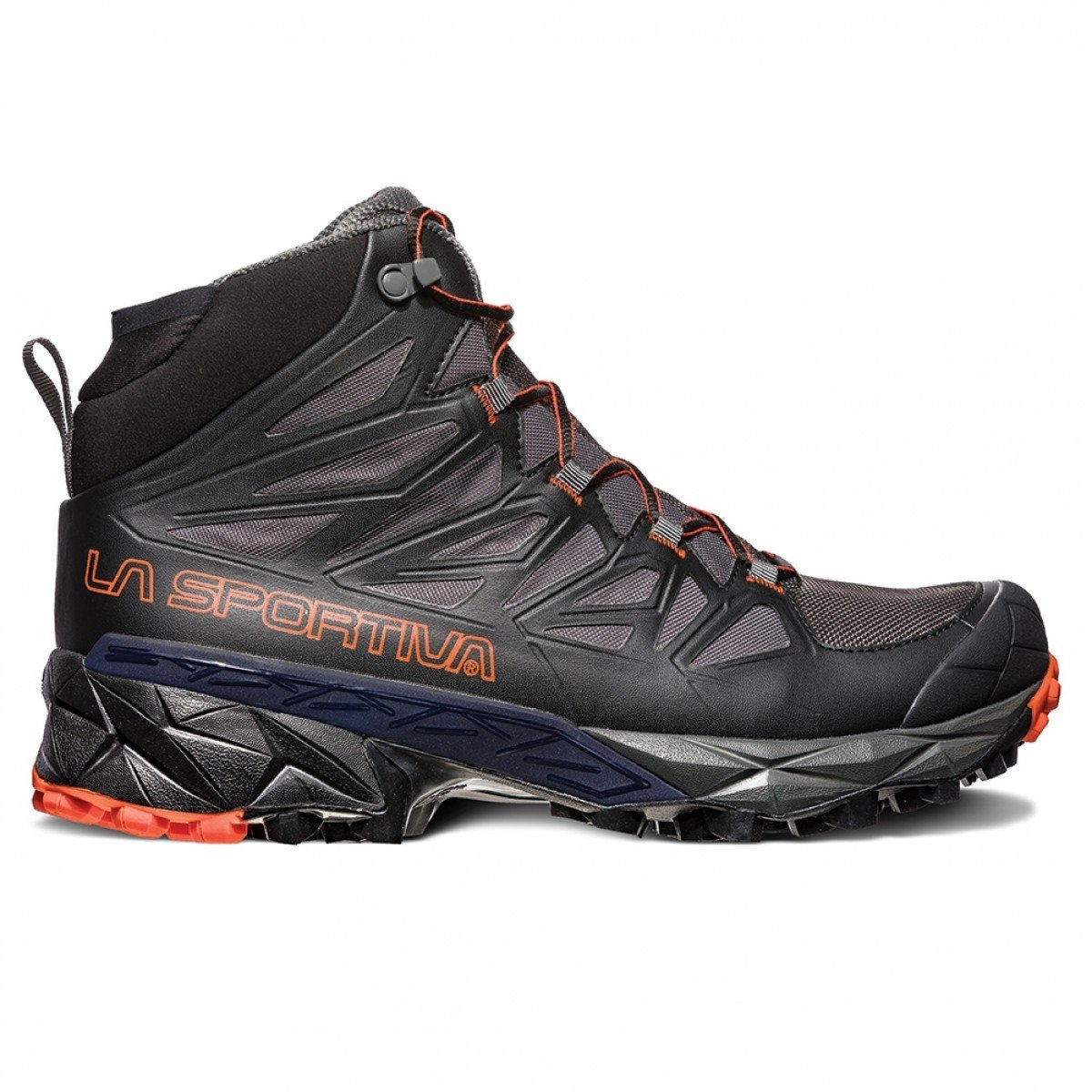 La Sportiva Blade GTX Hiking Shoe - Men's B07213JVF8 44 D EU|Black/Tangerine