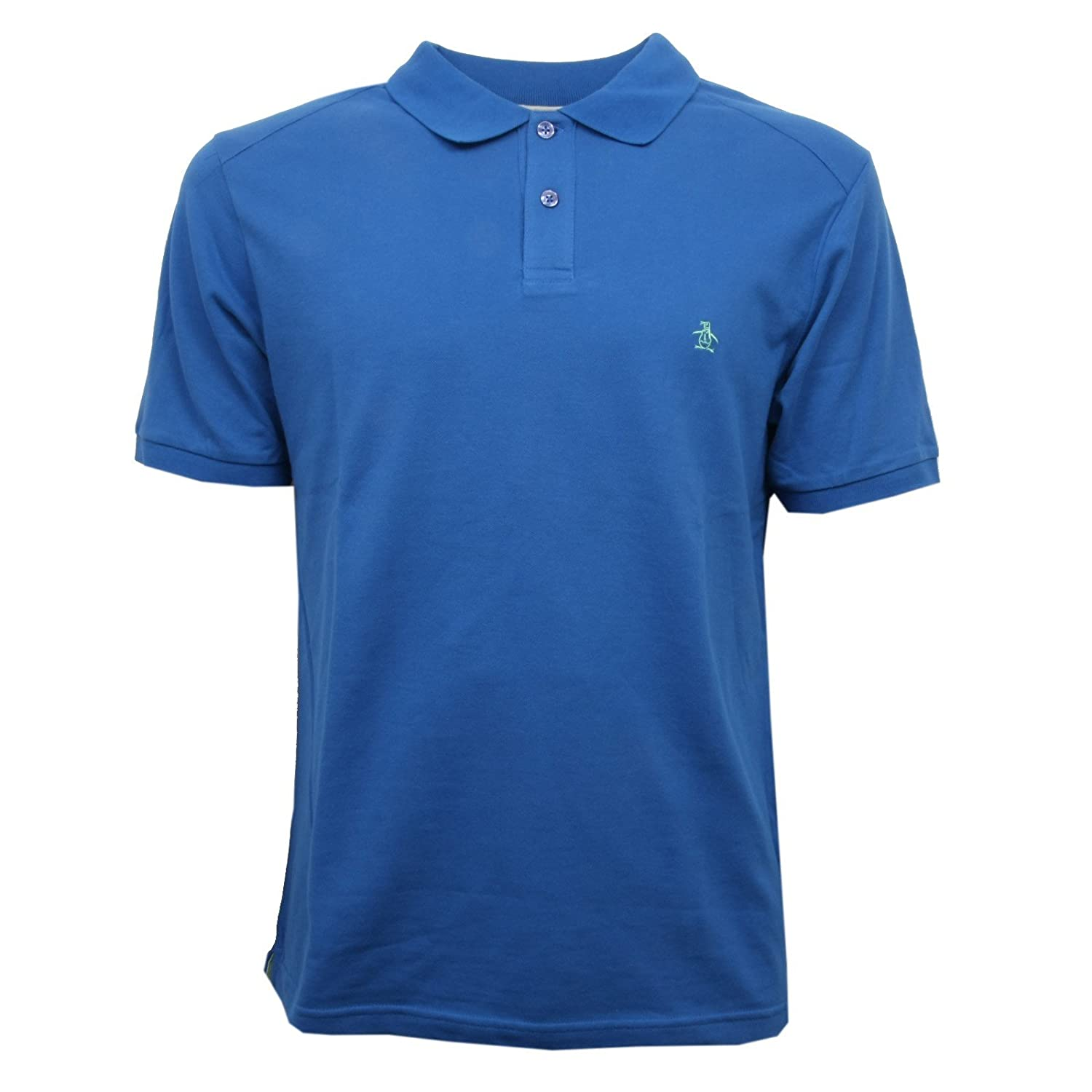 C7214 polo maglia uomo AN ORIGINAL PENGUIN blu t-shirt men: Amazon ...