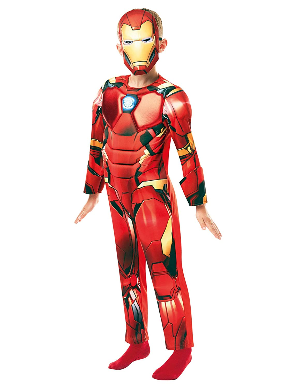 Rubies 640830S - Disfraz infantil oficial de Marvel Avengers Iron ...