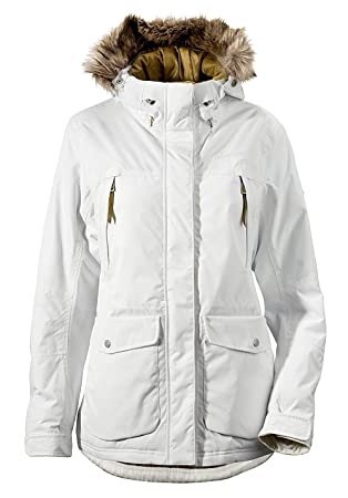 07156cfb5e Didriksons Covert Womens Waterproof Windproof Hooded Parka Jacket ...