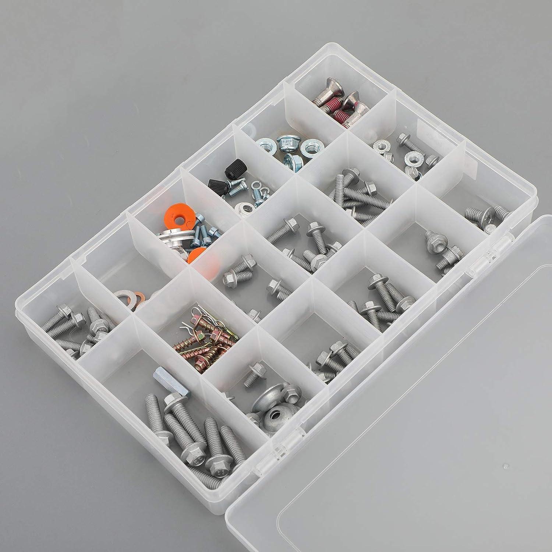 Artudatech Kit de pernos de motocicleta 160 piezas de pl/ástico completo y tornillos de carrocer/ía para K-T-M EXC SX XCR SXF 125 150 200 250 300 350 450 520 525