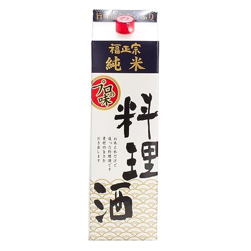 福正宗 純米 料理酒 紙パック 1800mL