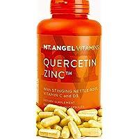 Mt. Angel Vitamins - Quercetin Zinc with Vitamins C & D3 Capsules 300 Count