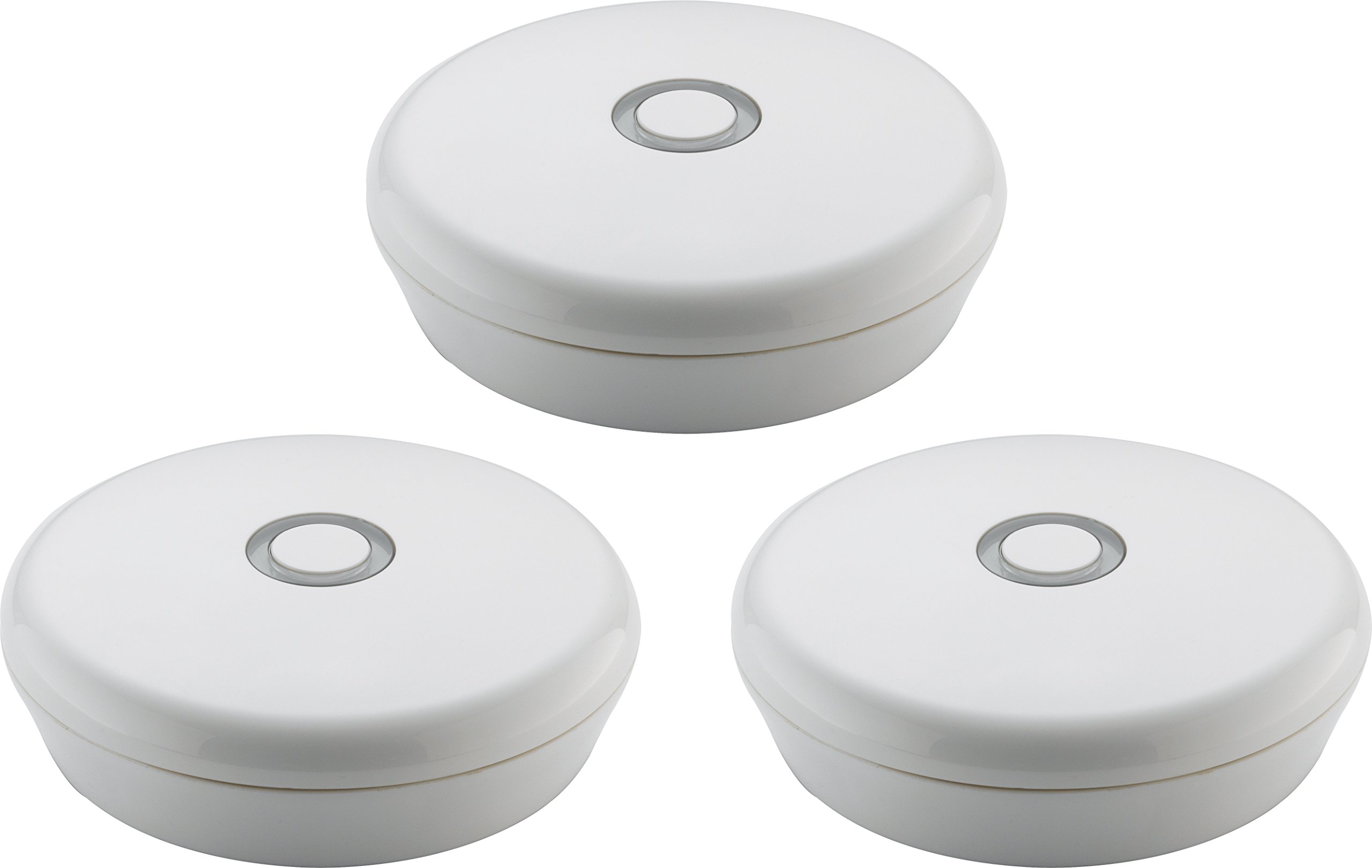 Delta Faucet LEAKX3 Leak Detect Wifi Water Detector, 3pk (No Hub Required)
