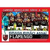 Pôster A4 - Flamengo Campeão Brasileiro - 2019