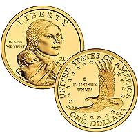 2000 S Sacagawea Golden Dollar $1 Proof