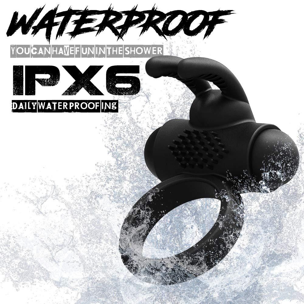 Novelty Toy Adūlt Lasting Pê-ňís r-i-ng Vǐbrǎtor for Men Waterproof by haoo1