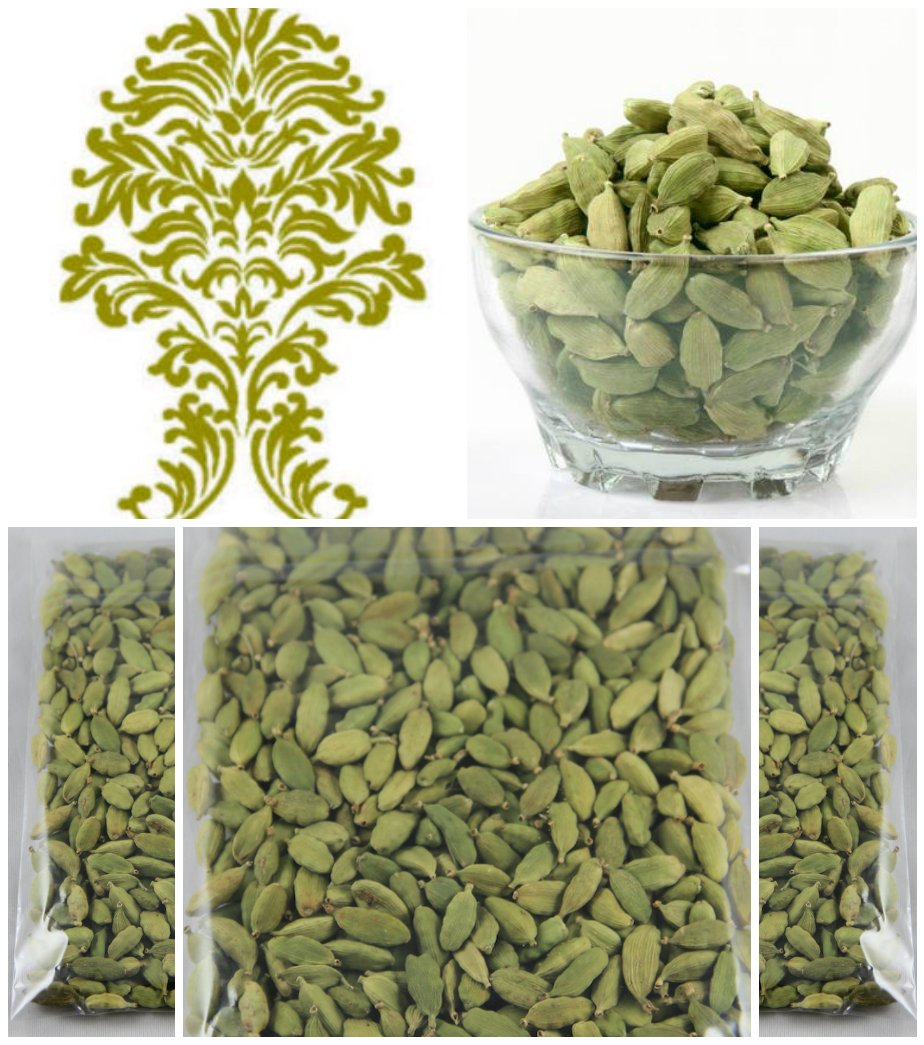 Cardamom Pods Green (Elachi)3.5oz- Indian Grocery,spice (Pack of 3)