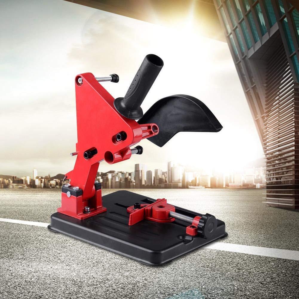 rot S SMAUTOP Schleifmaschine Halterung 100-125mm Winkelschleifer Halterung Casting Winkelschleifer Halterung Zubeh/ör