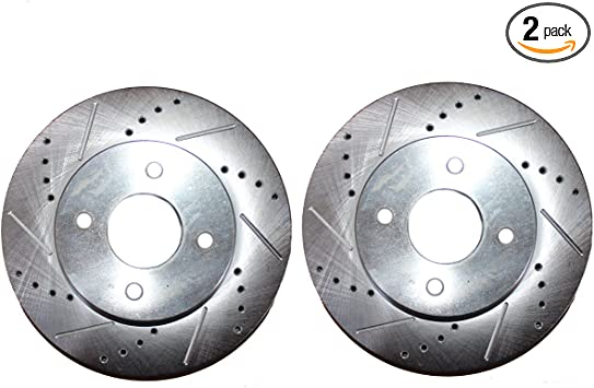 2005 2006 for Hyundai Accent Front /& Rear Brake Rotors and Pads