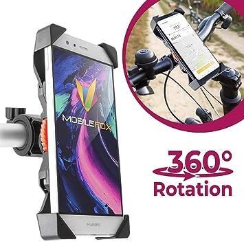 Mobile Fox 360 ° Bicicleta Manillar Soporte Ajustable Funda ...