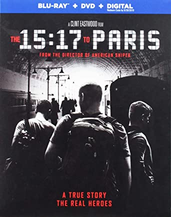 ผลการค้นหารูปภาพสำหรับ The 15:17 to Paris (2018 bluray