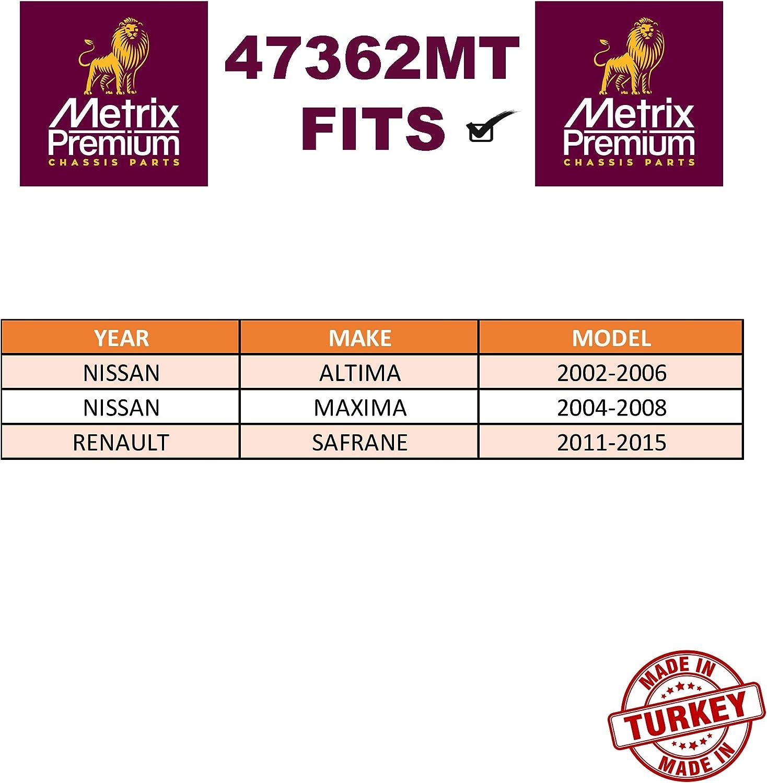 K90353 2004-2008 Nissan Maxima METRIX PREMIUM 47362MT Front Right Stabilizer Bar Link 2002-2006 Nissan Altima 2011-2015 Renault Safrane Made in TURKEY For