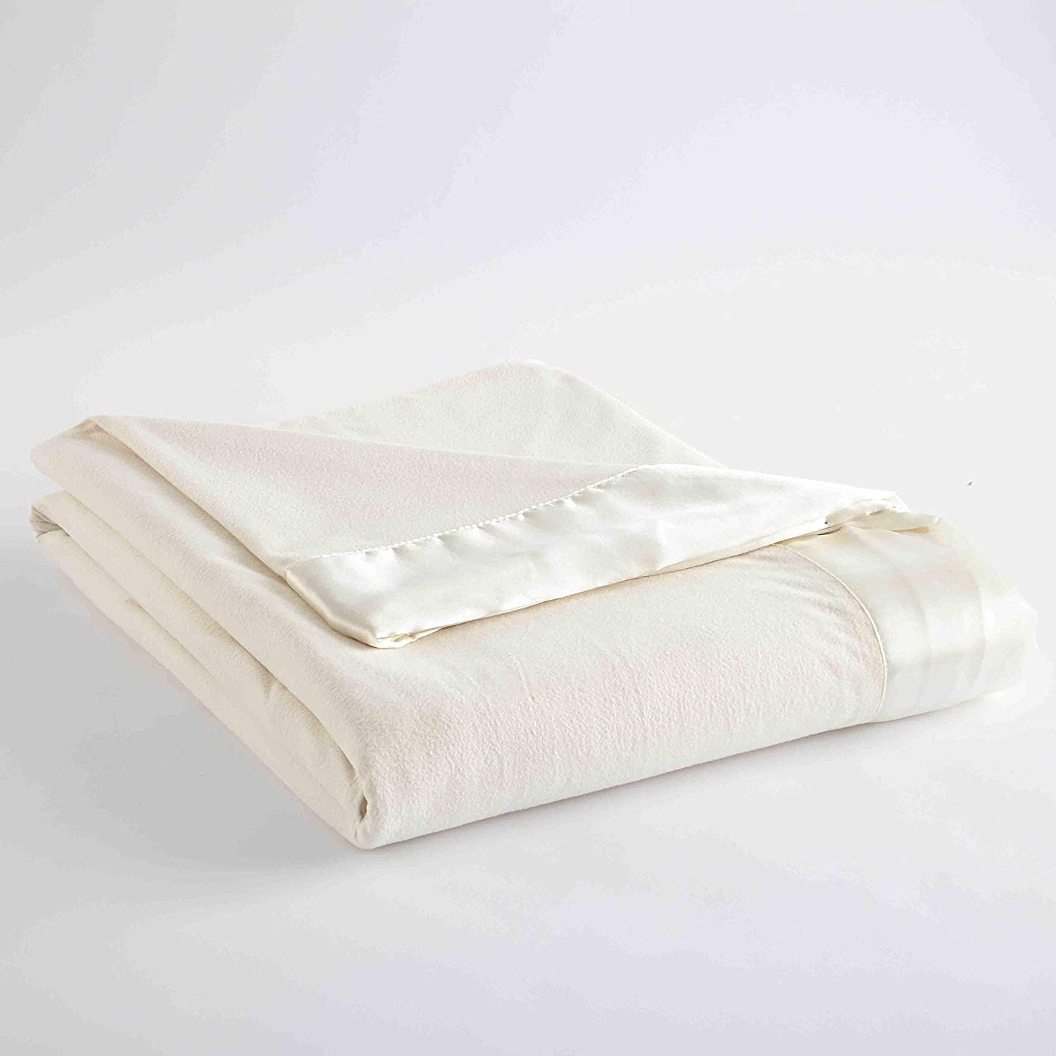 Shavel Home Products Micro Flannel Solid Sheet Set, King, Ivory