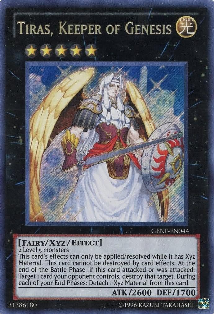 Yu-Gi-Oh! - Tiras, Keeper of Genesis (GENF-EN044) - Generation Force - Unlimited Edition - Secret Rare