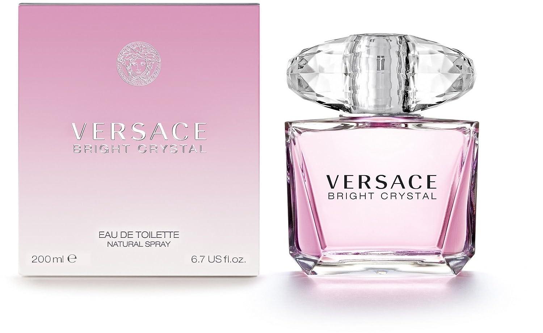 Femme Bright En 200 Crystal Eau Toilette Flacon Versace De Ml Vaporisateur Pour KTlFc1J
