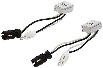 Ring Automotive LED501RES - Resistencia para bombillas LED (12 V, T10, 2 unidades): Amazon.es: Coche y moto