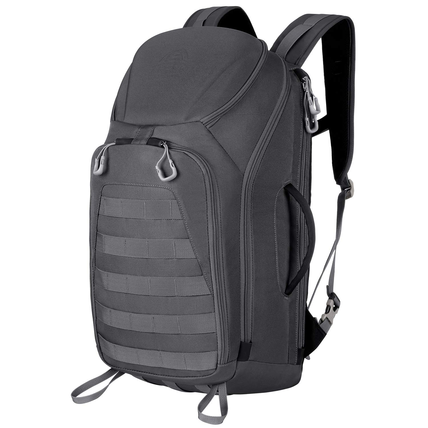 Aione Tactical Backpack Military Army Backpack Daypack 25L/30L/32L/52L Assault Pack Bug Out Bag with Hard Shell Top Pocket
