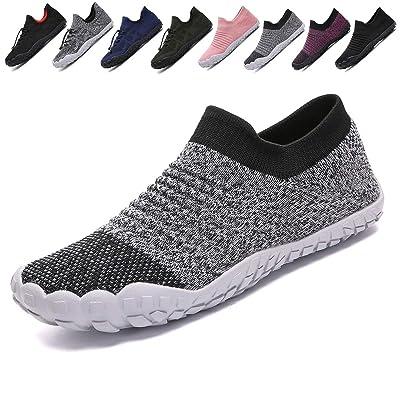 VIPFOX Mens Womens Hiking Water Shoes Slip On Barefoot Aqua Socks Outdoor Beach Swim Fishing Exercise Shoes | Water Shoes