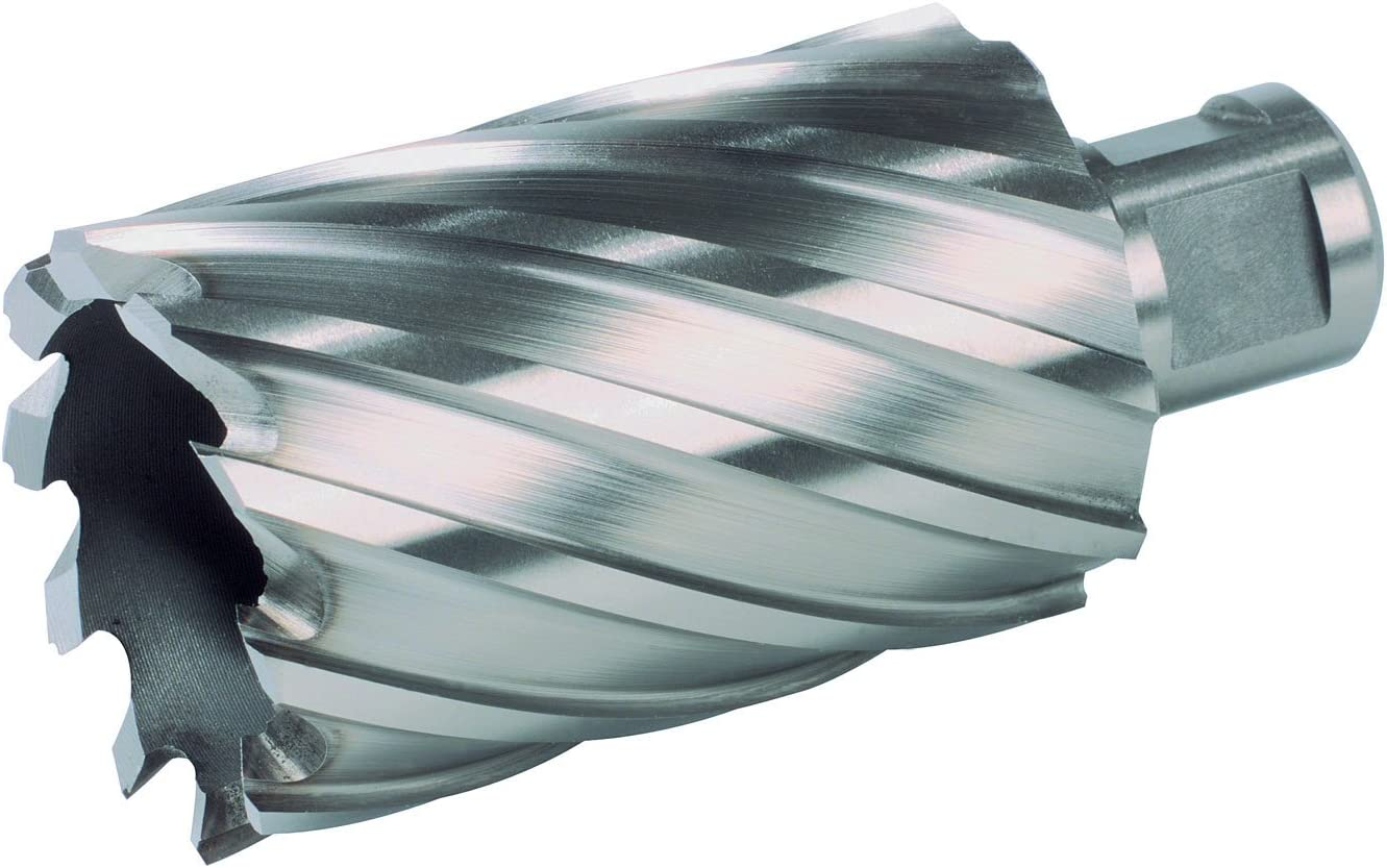 14.0mm Diameter CBN Ground 19.0mm Shank Diameter RUKO 108514 HSS Core Drill with 3//4 Weldon Shank 88.0mm Length