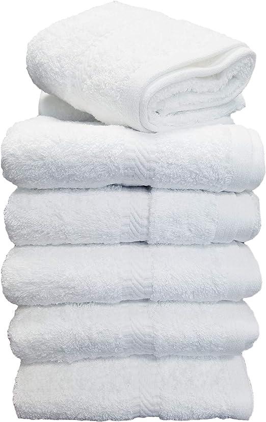 Juego de toallas de baño de algodón de 6 piezas, juego de toallas ...