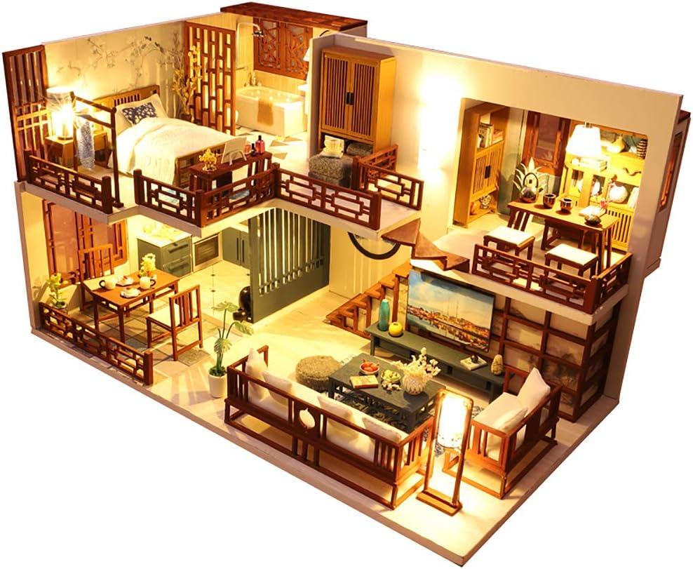 CUTEBEE『DIY 木製ドールハウス QUIET TIME(M025)』