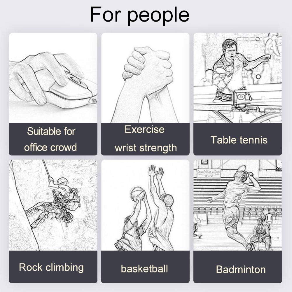 GOODGDN Hand Grip Pinza Mano Manopole Mani Riabilitazione Mano per Polso Avambraccio Forza Allenamento Pinza Mano Gripper Rafforzatori Grip Professionali Tensione-Costruisci Braccia e Polsi
